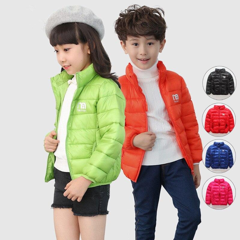 Sıcak Satış Moda Yüksek Kaliteli Çocuk Erkek Kız Kış Ceket Yeni Unisex kalın sıcak pamuk Ceket Kız Kış ceketler kar Ceket