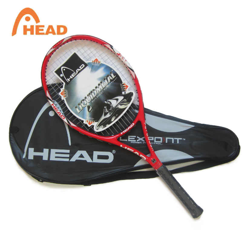100% Original HEAD Tennis Racket Free With Tennis Bag Top Carbon Fiber Material With Tennis String Fixed For Match And Training