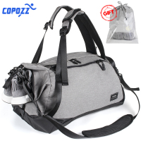 COPOZZ Waterproof Gym Bags Sport Men Women for Shoes Storage Fitness Yoga Mat Training Bag Single Shoulder Handbag Crossbody Tas