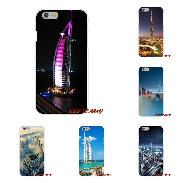 US $0 99 |Accessories Phone Cases Covers Dubai City Architectural landscape  For iPhone X 4 4S 5 5S 5C SE 6 6S 7 8 Plus-in Half-wrapped Case from