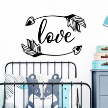 Diy Love Pvc Wall Decals Home Decor For Baby Kids Rooms Decor Home Party Decor Wallpaper цена в Москве и Питере
