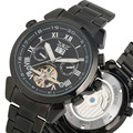 Модные механические часы с скелетом для мужчин  механические часы  самоходные водонепроницаемые светящиеся ручные механические наручные ч...