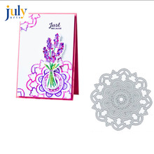 Julyarts Flower Background Metal Cutting Dies Heart Scrapbooking Nouveau Arrivage Decoratieve Embossing Decoratie Craft
