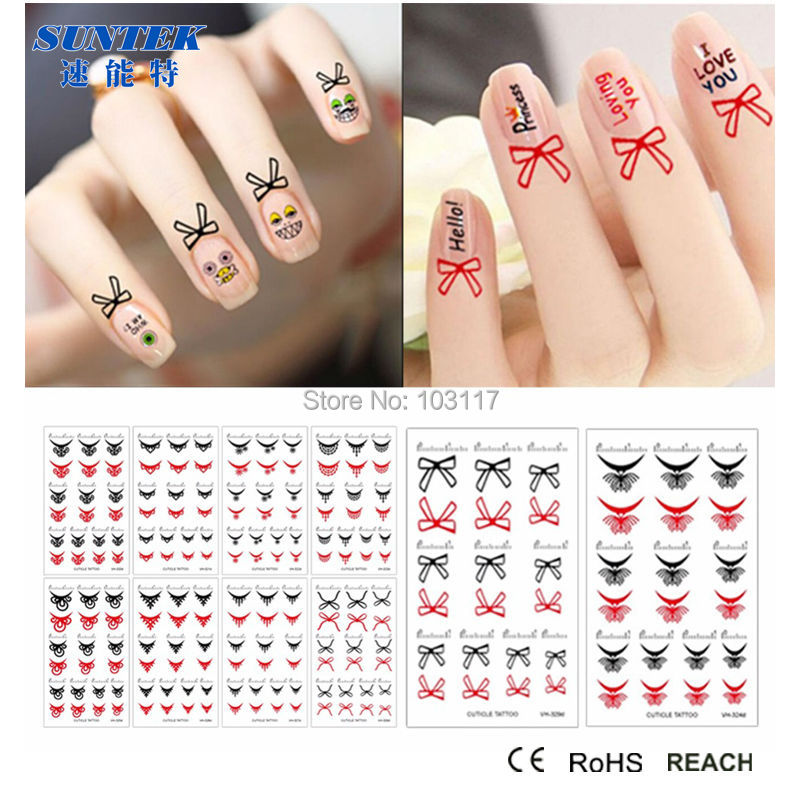 90 sets inkjetlaser blank transfer paper temporary tattoo for diy transfer tottoo paper sky nail art sticker colorful decal decoration prinsesfo Gallery