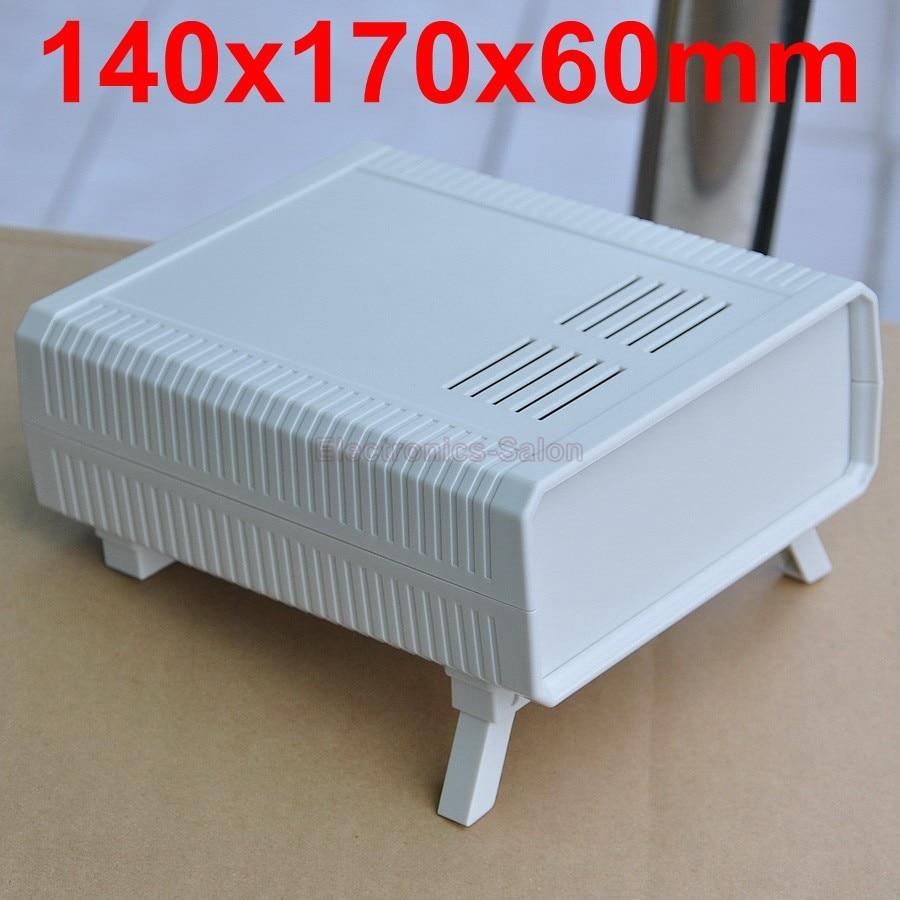 HQ Instrumentation ABS Project Enclosure Box Case, White, 140x170x60mm.