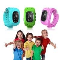 Q50 Smartch Crianças relógio Inteligente com Microfone Embutido GPS LBS SOS Call Reminder Cartão SIM Micro Ajustável Pulseira Para As Crianças