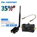 4 W Wifi Sem Fio Amplificador Broadband Router 2.4 Ghz Poder Faixa Signal Booster para router wi-fi 802.11n Frete Grátis CF-G103