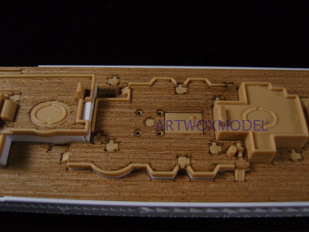 Baralho de madeira com titânio de alumínio artwox aw20076