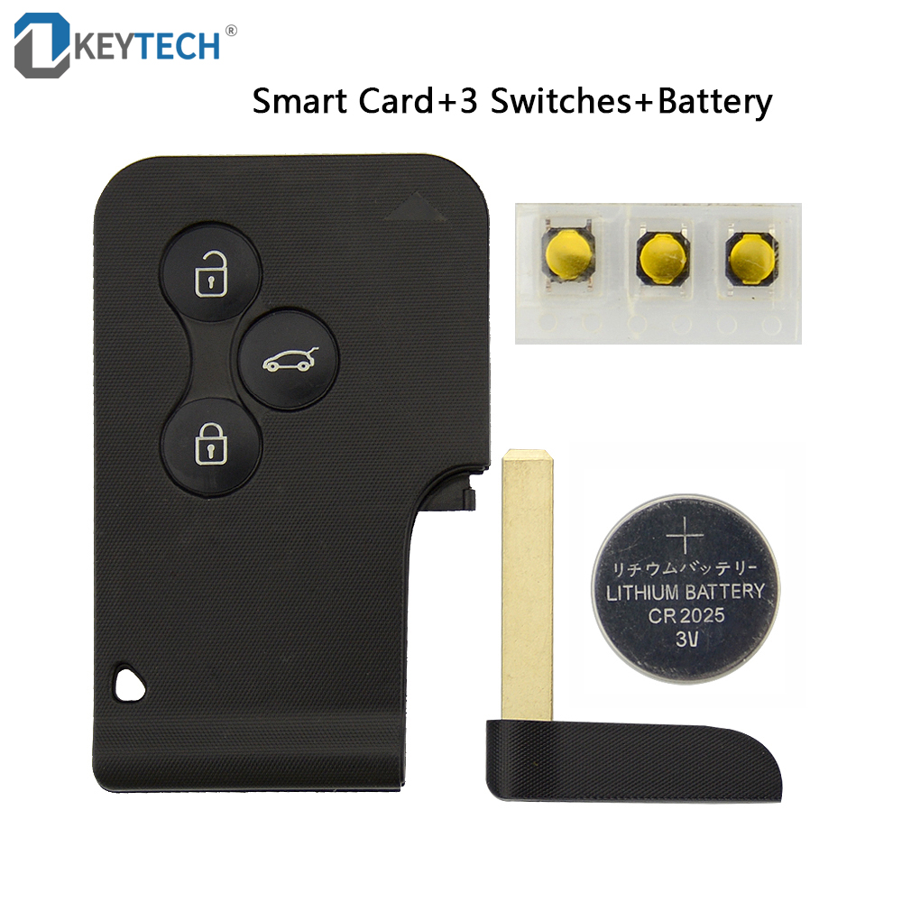 OkeyTech Smart Card For Renault Clio Logan Megane 2 3