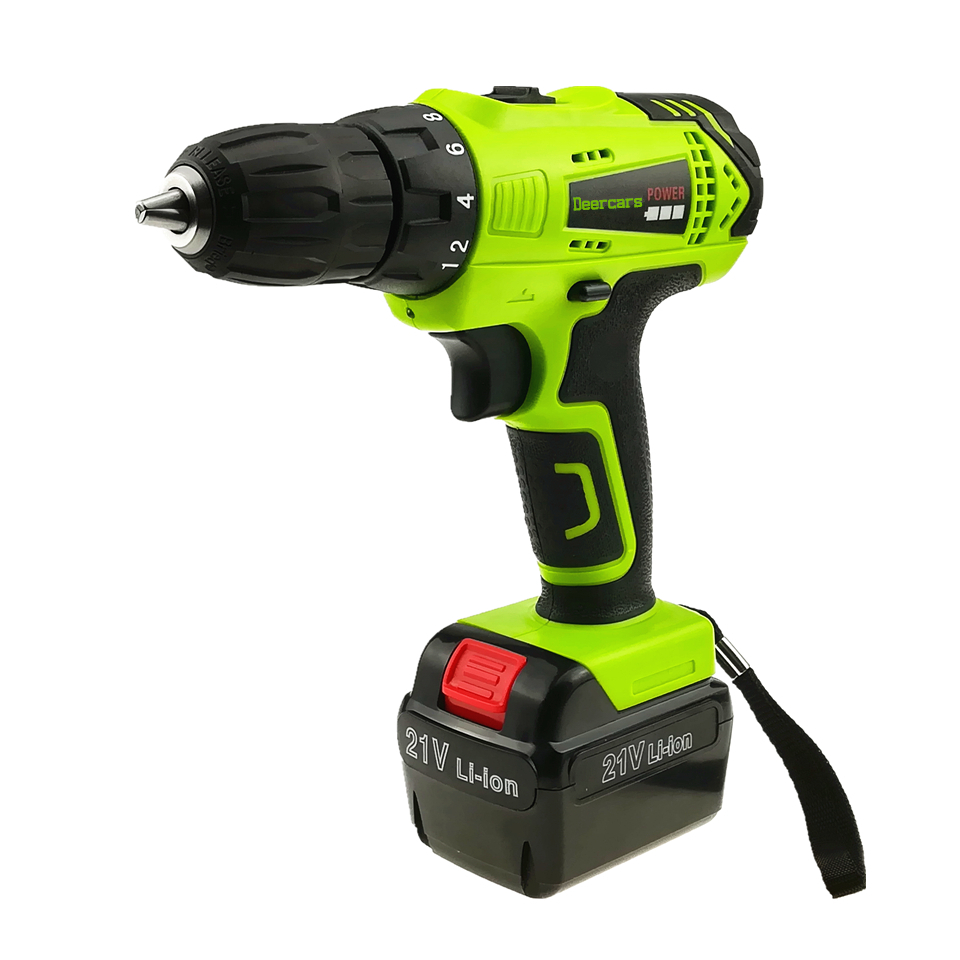 цена на 21v Cordless Screwdriver Household Power Tools Rechargeable Electric Drill One Lithium Battery Parafusadeira Furadeira Tools