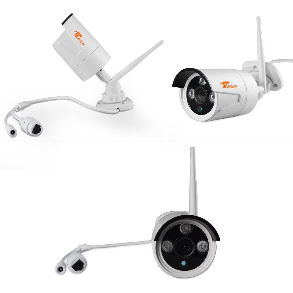 CORSEE 4CH 1080P Outdoor HD Wireless Wifi Surveillance NVR Kit 10 ...