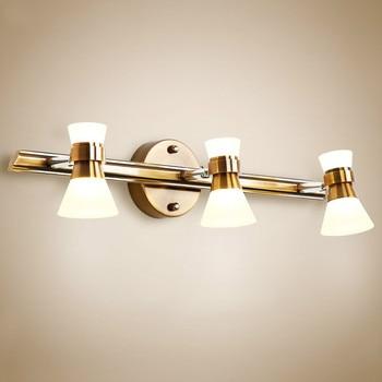 American mirror headlights led bathroom mirror light bathroom washroom mirror cabinet lamp dressing makeup lamp lw418427