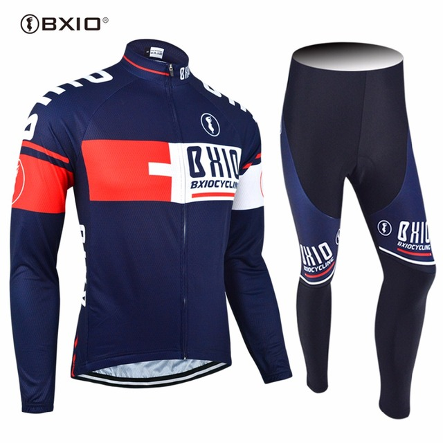 cbbbc7a34 New Arrival BXIO Brand Custom Cycling Set Long Sleeve Pro Team Bike Clothes  Multi Colors Bicycle