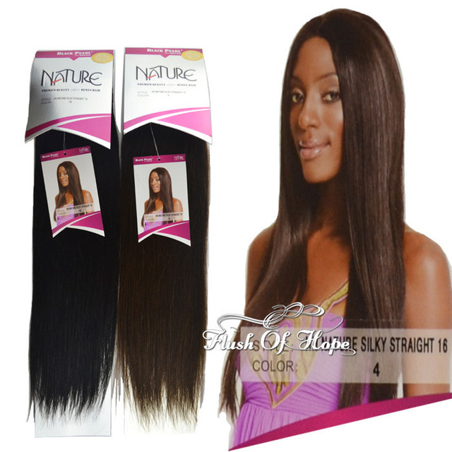 Wholesale Black Pearl Silky Straight Hair Extensions Brazilian Remy