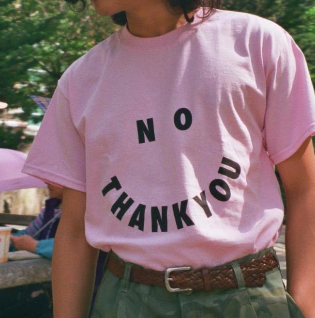 HTB1bRhINVXXXXcGXVXXq6xXFXXXe - No Thank You Women T Shirt PTC 18