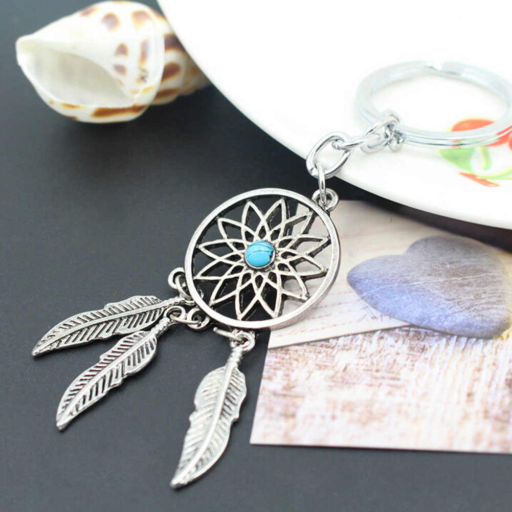 Design Unique  Accessories Funny  Gift Usable Dreamcatcher   Keychain Simple Cute New