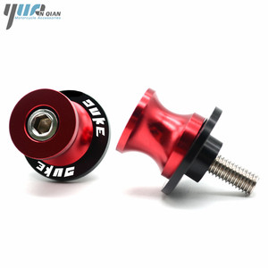 Image 3 - 8MM 10MM duke  Motorcycle Swingarm Spools Slider Stand Screws For KTM 990 SuperDuke 690 390 Duke/ RC 390 200 Duke 690 Duke R