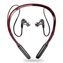 Новейшие беспроводные Bluetooth V5.0 наушники 3D стерео гарнитура шейные спортивные наушники бас-вкладыши Наушники с микрофоном для всех телефонов