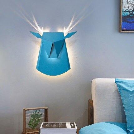 Lampe Geweih. Affordable Bett Dekorieren Kreative Retro Wand Lampe ...