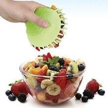 Ручной салат клип овощи пачка-Киви ягода с удобной ручкой Салат Инструменты