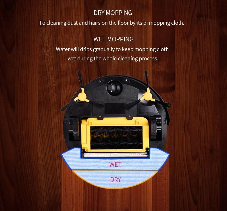 Aspirateur robotique automatique avec filtre à eau 300ML pour la - Appareils ménagers - Photo 4