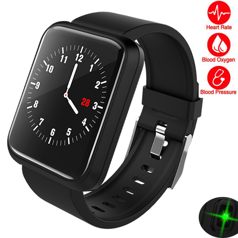 Smart Watch Men Women Fitness Heart Rate Monitor Pedometer Bluetooth Large Screen GPS Touch Intelligent Sport Watch For Running fitness traker elegant ladies smart watch women men bluetooth pedometer heart rate monitor sports intelligent watch for running