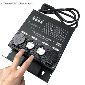 Image 2 - Factory Wholesale 4 Channel DMX Dimmer And Switch Pack With 16 Built in Light Programs 4CH Switcher For Stage Light Fixtures