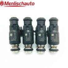 4PCS Original Fuel Injector Nozzle 25335288 for 2002-2006 Mercury 40HP-60HP Outboard 2-Stroke