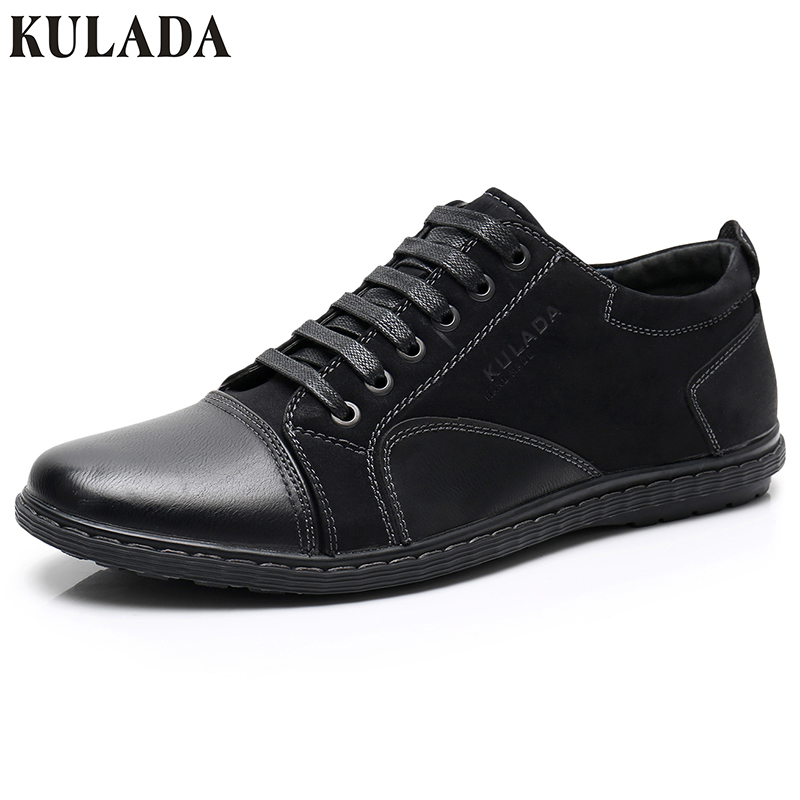 KULADA Newest Shoes Men Sneakers Men Cow   Suede   Handmade Brand Casual Luxury Fashion Designer Man   Leather   Walking Shoes 77-20A