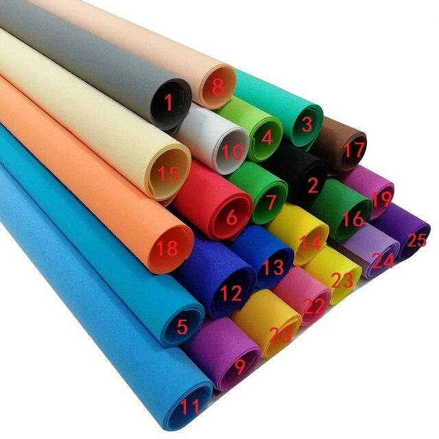 White Foam Paper 10 Sheets Foamiran 50x50 Cm Colorful Eva Craft