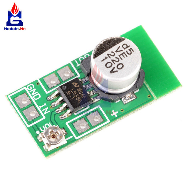 dc 3 12v 5v adjustable mini lm386 audio power amplifier board micro rh aliexpress com Micro Audio Amplifier Circuit Micro Audio Amplifier Circuit