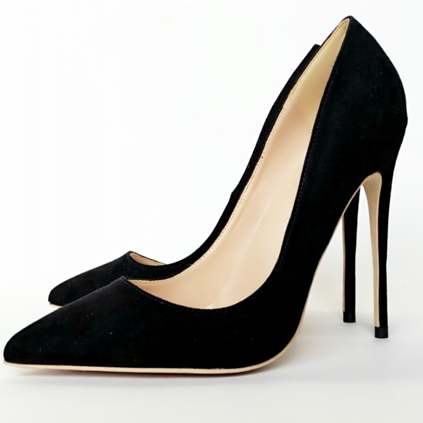 Keshangjia Women s High Heels Shoes 12cm 10cm 8cm Stilettos Heels Sexy Pumps Heels for Women