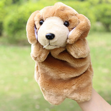Cute Dog Hand Puppet Toys Cartoon Puppy Spot Dog Plush Dolls Kids Children Story Props Educational Toy 1pc