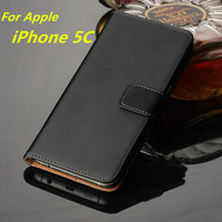 Fundas For IPhone 5C Case Leather Wallet Cover Case For Apple IPhone 5C Magnetic Flip Case
