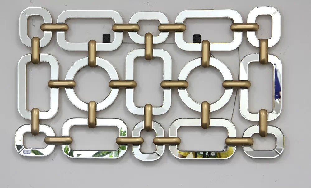 mr 2q0194 metal frame wall decorative wall mirrorchina mainland