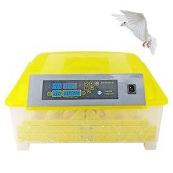 Инкубатор для яиц 48 яиц автоматический инкубатор для яиц с высоким качеством и безопасностью инкубаторы для яиц с цифровой панелью управле...