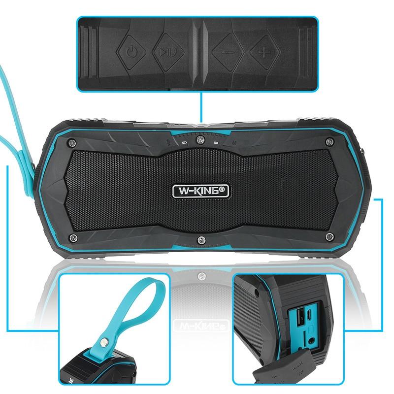 W-King су өткізбейтін Bluetooth 4.0 динамикі - Портативті аудио және бейне - фото 5