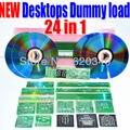24 в 1 материнская плата CPU Эквивалент Нагрузки/хит сопротивление карты полный набор отправить PCI диагностических карт ремонт Компьютерной инструменты