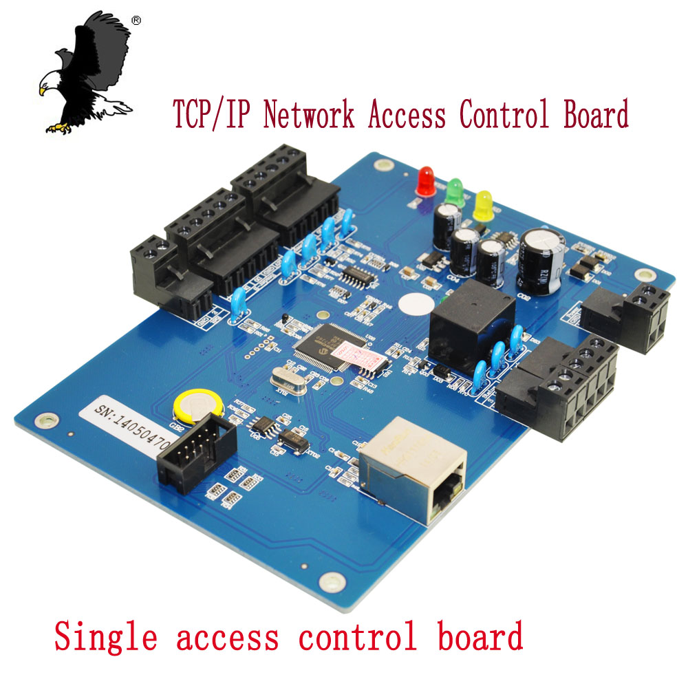Generic Wiegand CA-3210BT Free Shipping TCP/IP Network Access Control Board   One Door Two Ways Support  WG26 Carea sdk two doors two ways input output ports 30000 user tcp ip network zk c3 200 door access control board