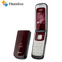 2720 Самый дешевый телефон Nokia 2720 складной разблокированный сотовый телефон Bluetooth Java
