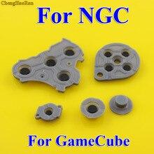 2 10 setleri Değiştirmeleri Için Nintendo GameCube NGC Denetleyici Iletken Silikon Düğme Pad