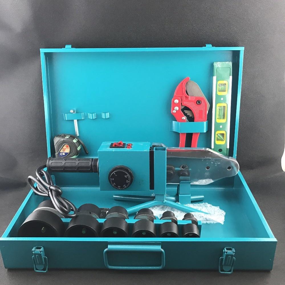 Паяльник AC 220 В 1500 Вт 20-63 мм для пластиковых труб, PPR трубы сварки