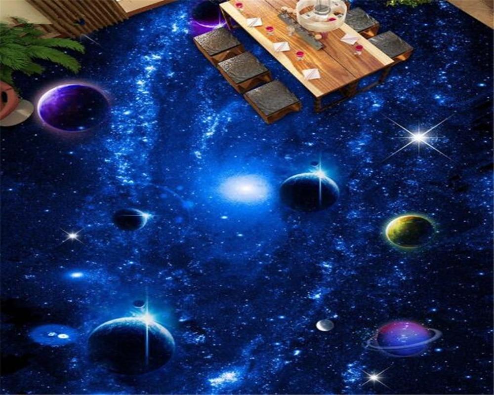 Beibehang papel de parede Fashion fantasy waterdicht behang cosmic ...