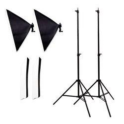 Photo equipment studio set Taobao photo lamp set photography light box flexible box portrait photography CD50