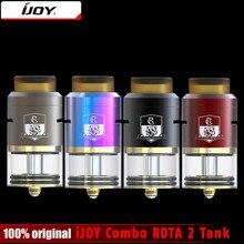 100% оригинал IJOY комбо rdta RDA & комбинация rdta 2 VAPE sub Ом танк распылителя 6.5 мл E-сок ёмкость с боковым заполнения Системы