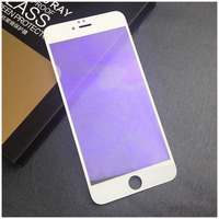 1pcs Iphone Mobile Phone Toughened Glass Membrane Full Screen Cover Resistance To Blu ray Shield An Eye