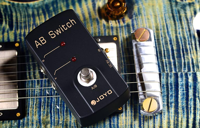 Joyo JF-30 AB Switch Guitar Effect Pedal with Free Pedal Case joyo jf 13 ac tone guitar effect pedal with free pedal case