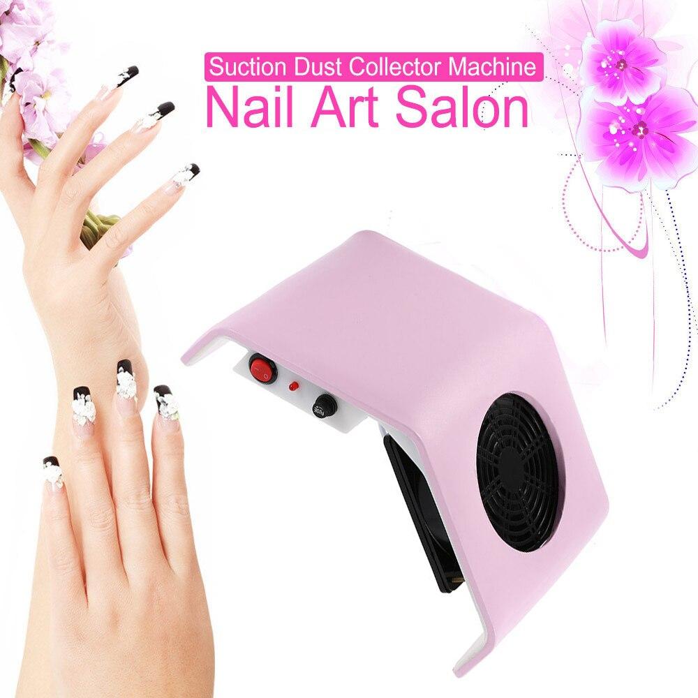 Een stofzuiger voor manicure pro nagel stofafscheider voor nagels ...