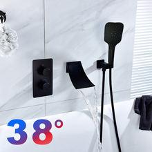 38 °c смесители для душа смеситель ванны ванной комнаты скрытые