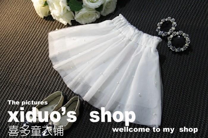 Sweet Girl Bow Tutu Skirt Babay Girl Princess Bow Gown Skirt (3)